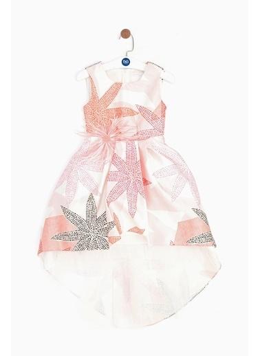Lia Lea Lia Lea Kız Çocuk Desenli Elbise 19SSLL01615 Renkli
